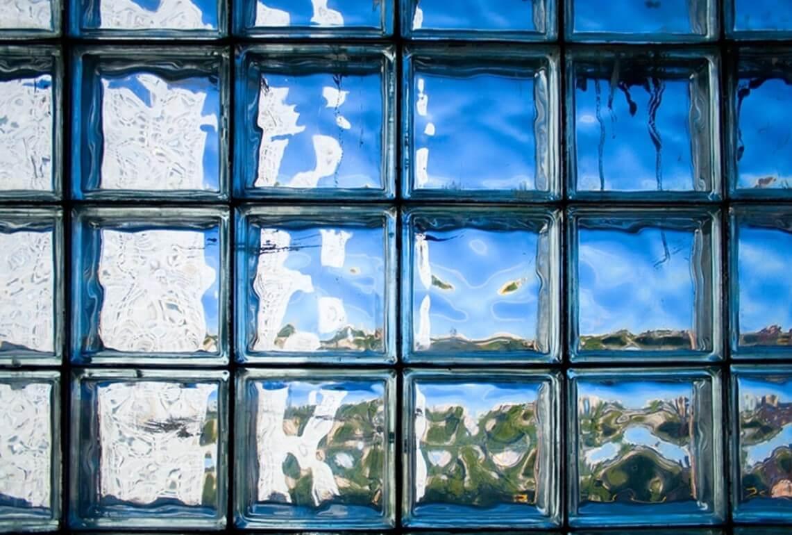 bloque de vidrio